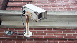 Old CCTV camera